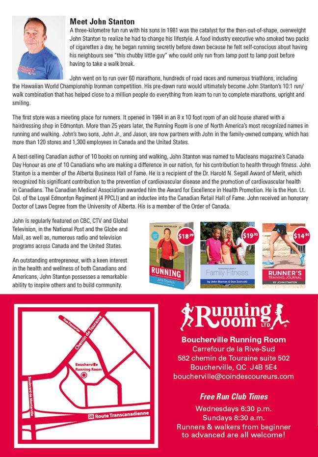 Boucherville Running Room