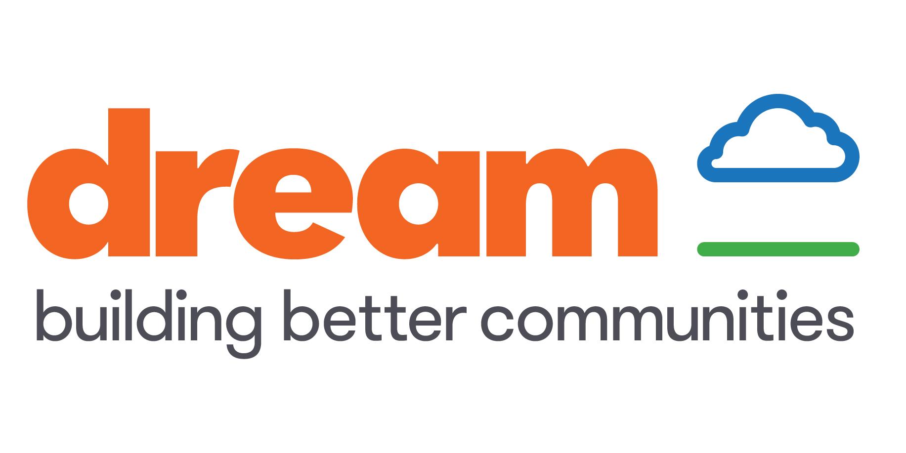 dream logo with tagline