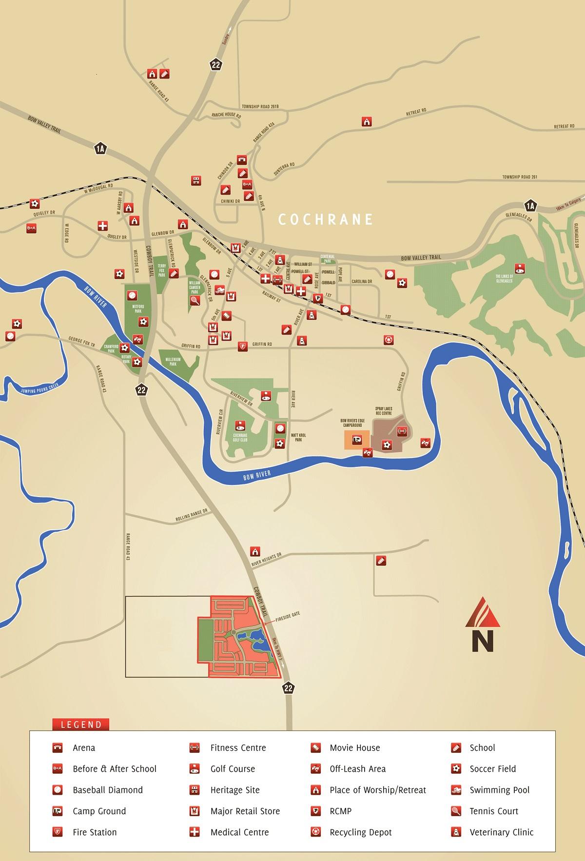 Mitford Park Mapsm