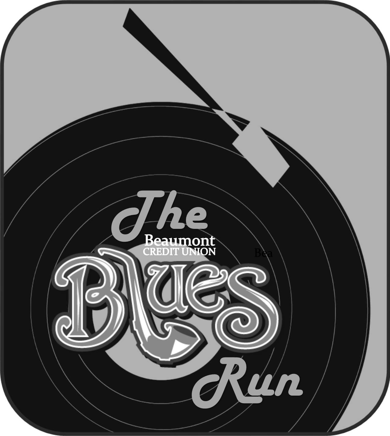 Beaumont Credit Union Blues Run - 2018 Logo