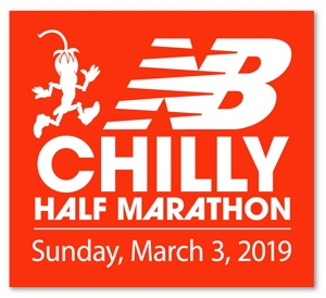 Chilly Half Marathon, Frigid 10k and Frosty 5k - 2019 Logo