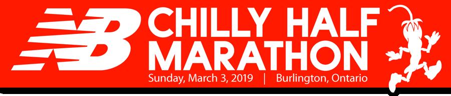 2019 Chilly Half web header
