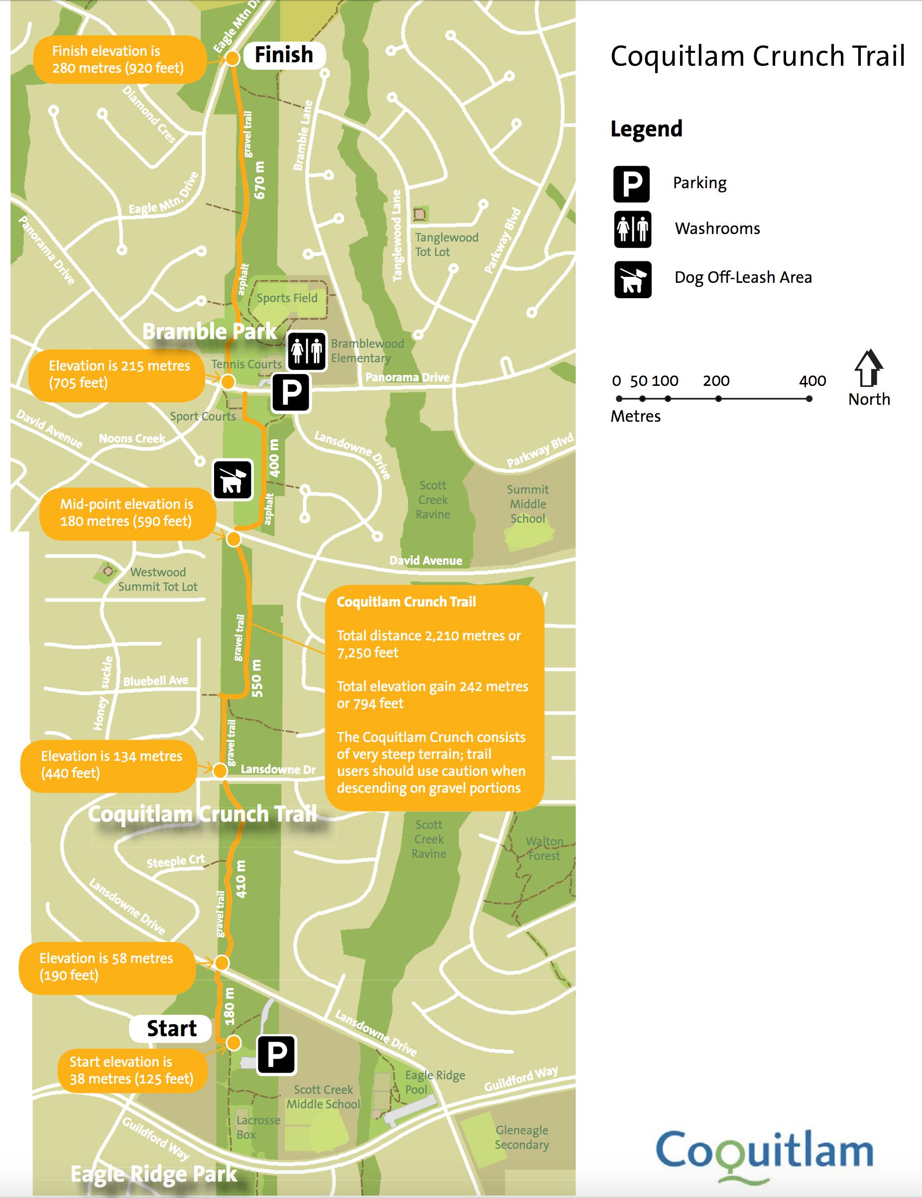 Coquitlam Crunch Map SOCIAL