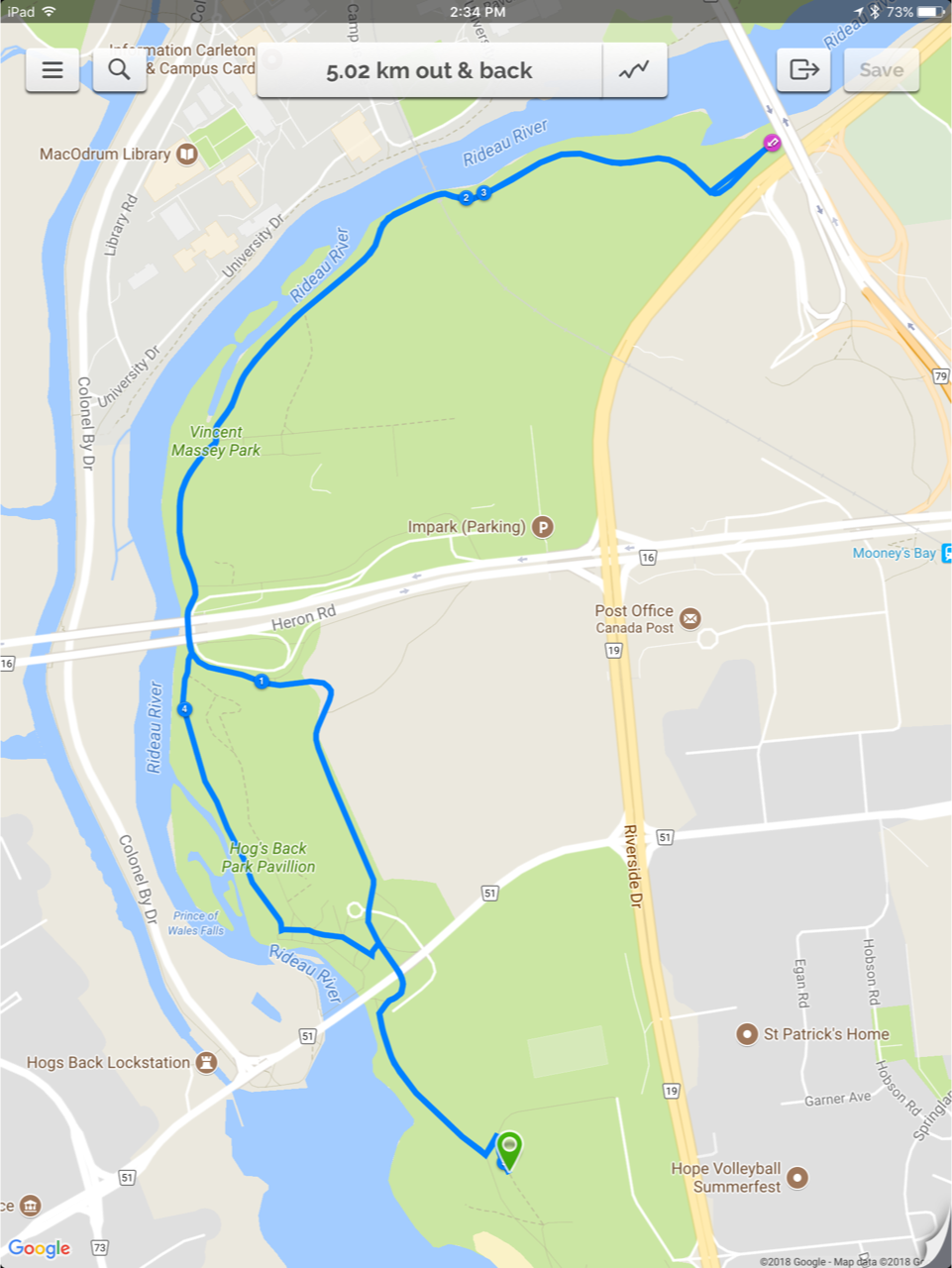Running Room Online Event Registration - How to map out a run