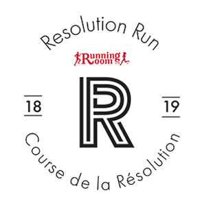 34th Annual Resolution Run - Virtual Run Canada 2019 Logo