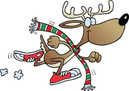 Reindeer Run/Walk YMCA Northumberland 2019 Logo