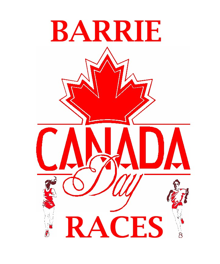 Barrie Canada Day Races 2019 Logo