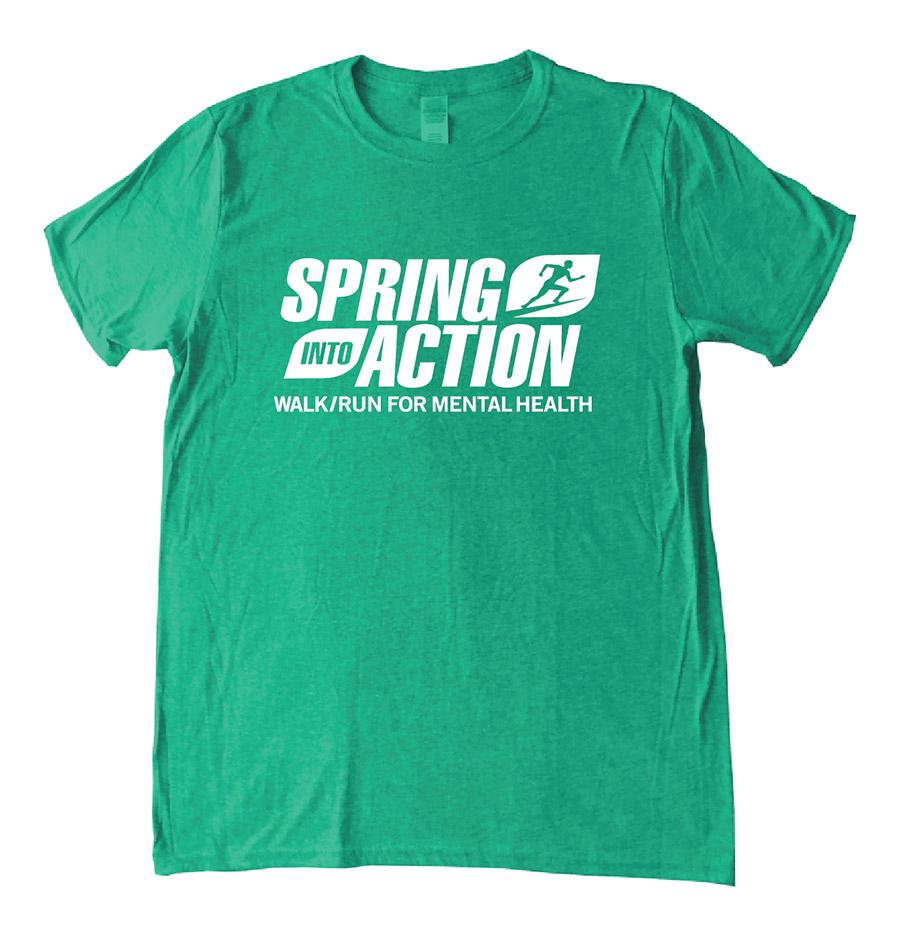 SIA Runners Shirt Irish Heather Green APR19 2019