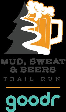 Mud Sweat Beers Goodr logo