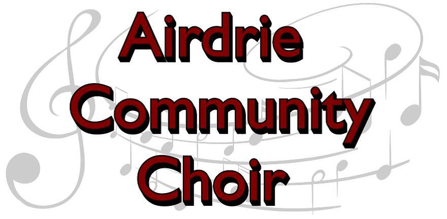 Airdrie Comm Choir Logo
