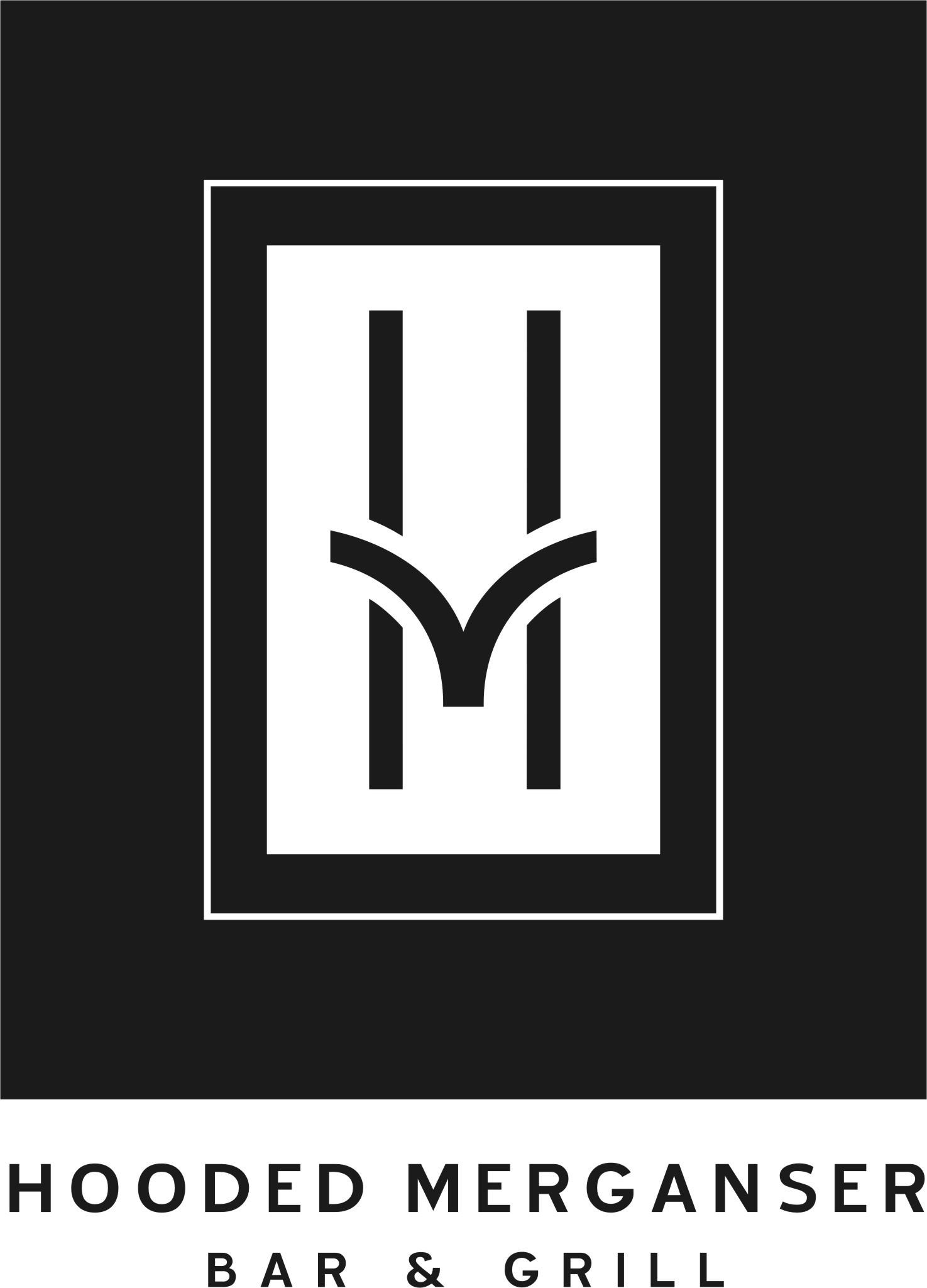 The Hooded Merganser( Black Frame)