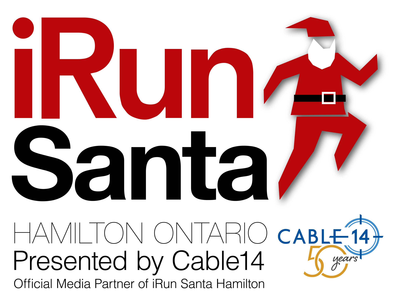 i Run Santa logo Hamilton 1