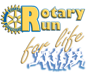 Rotary Run for Life - 16th Annual Logo