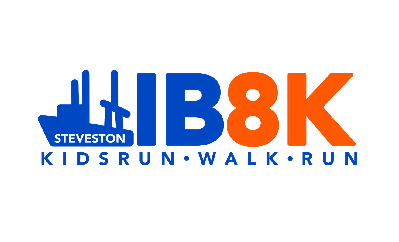 2020 Steveston Icebreaker 8k and New Balance Kidsrun Logo