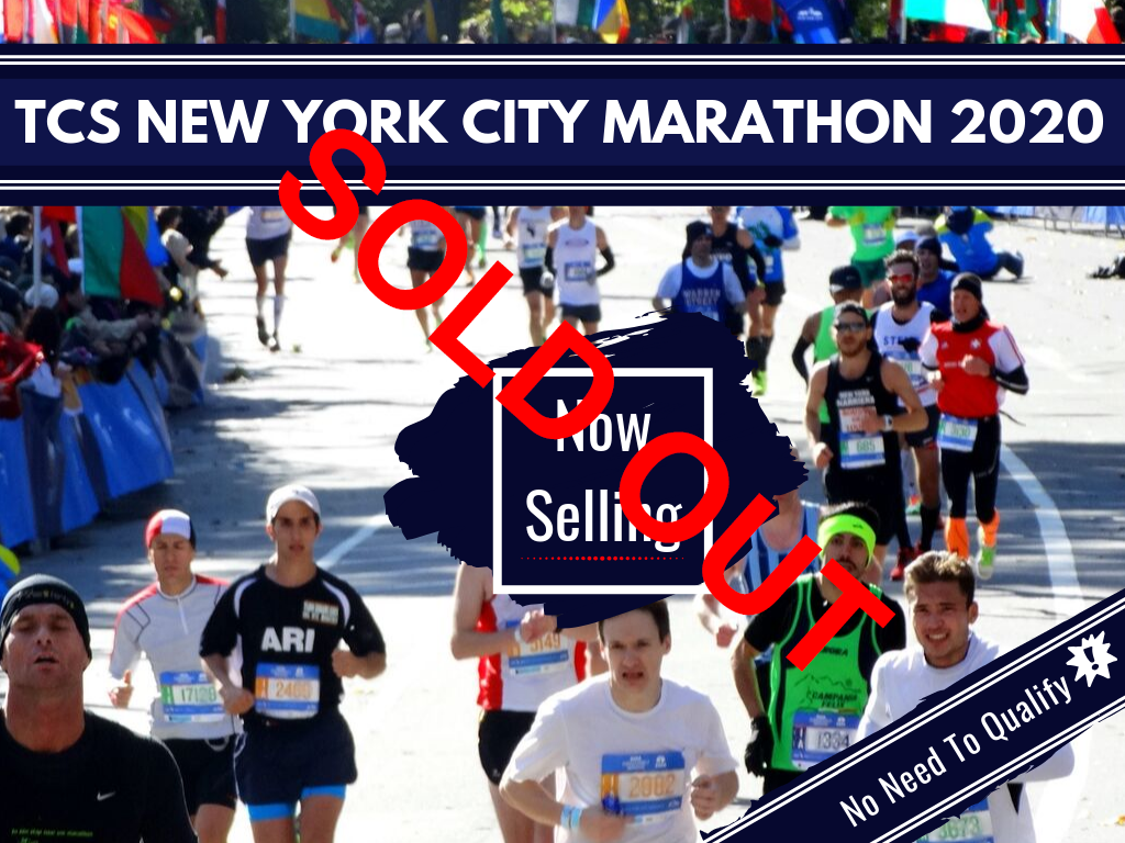 2020 TCS NYCM sold out