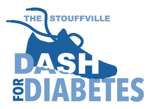 Stouffville Dash for Diabetes 2021 Logo
