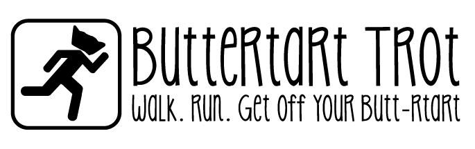 Buttertart Trot Logo BW