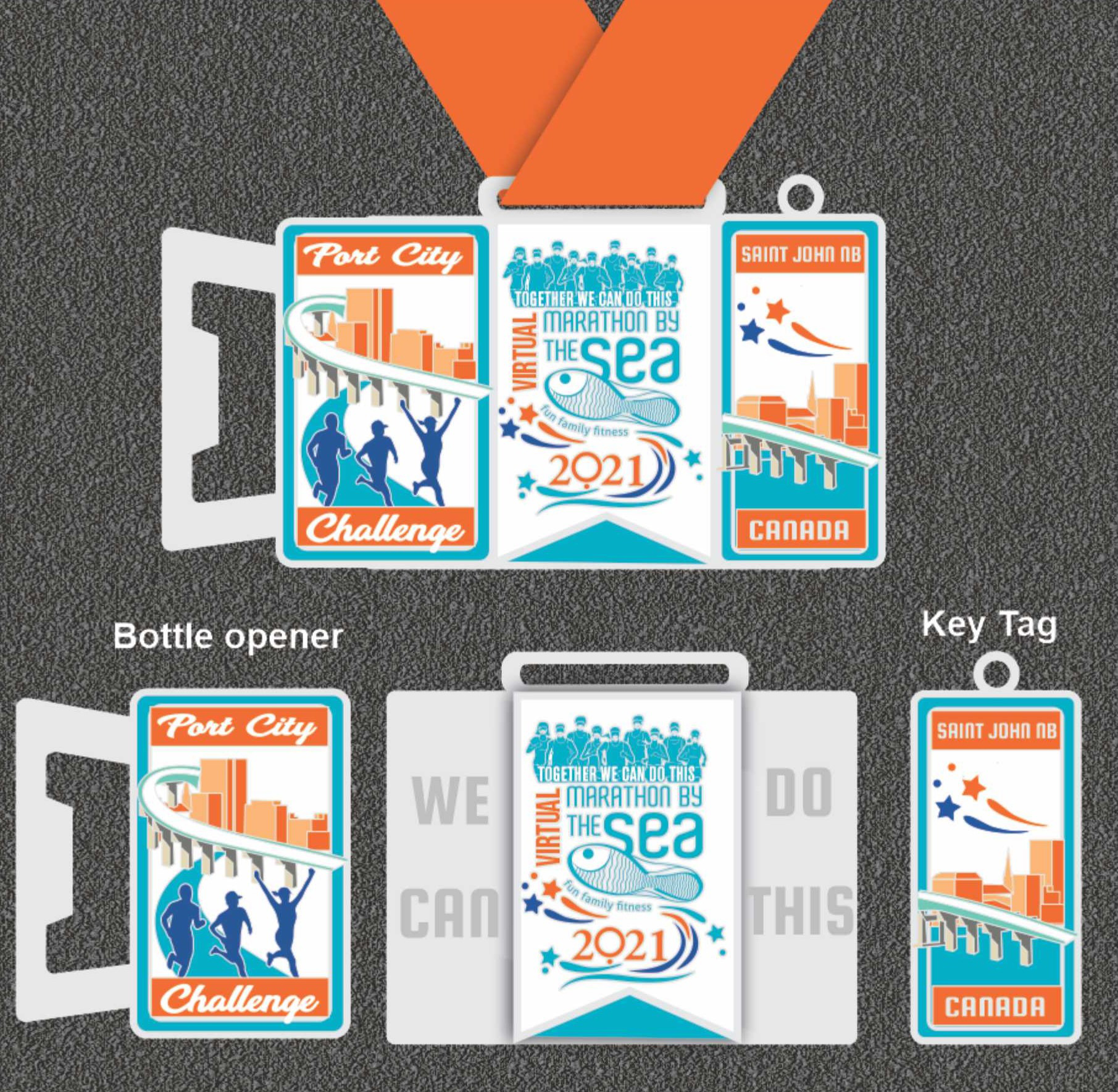 MBTS2021 Challenge Medals