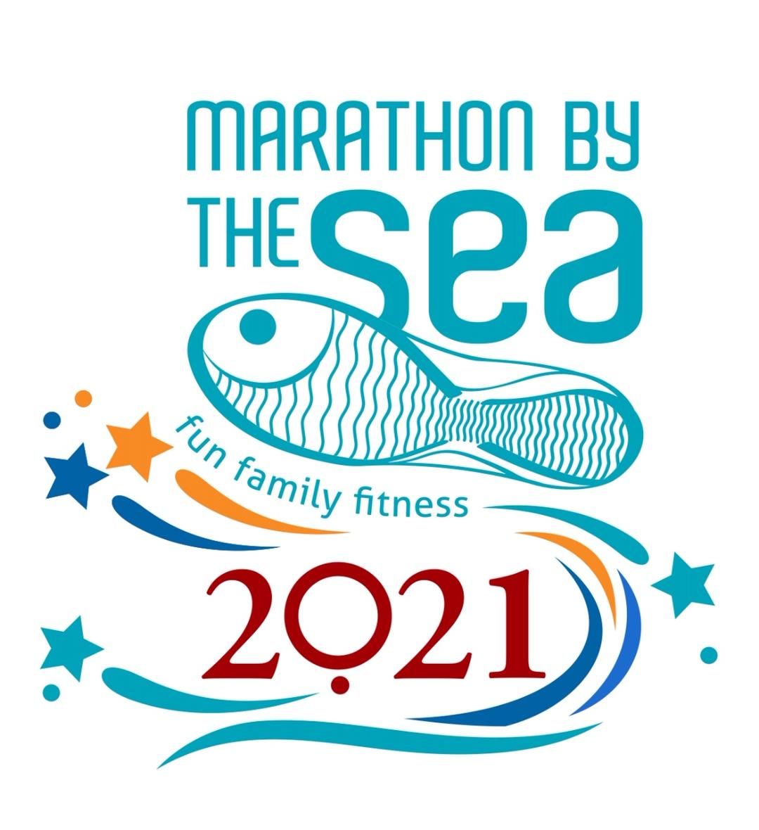 Marathon By The Sea Race Event Weekend 2021 Logo