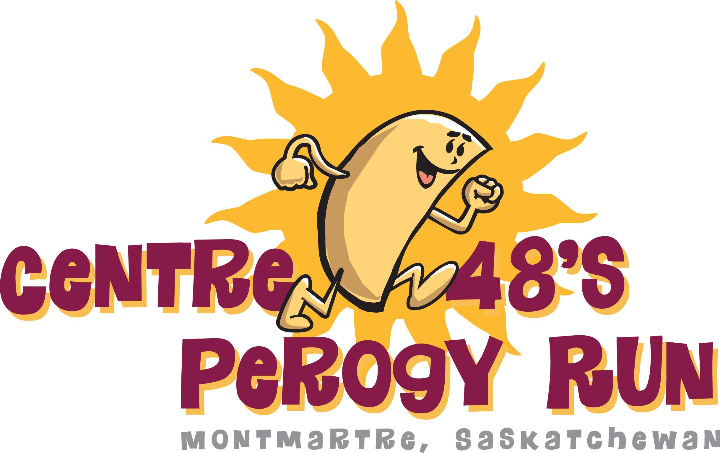 Perogy Run T Art