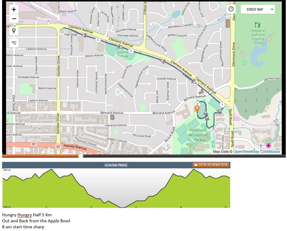 5km Route
