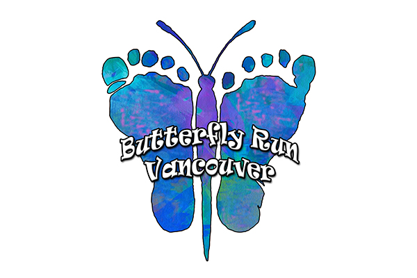 Butterfly Run Vancouver 2020 Logo