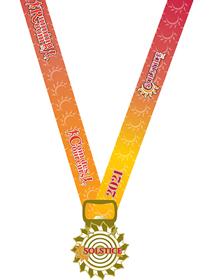 RR Solstice5k 2021 Medal