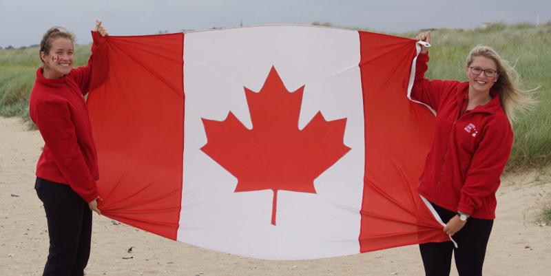 CJB Canada Day flag