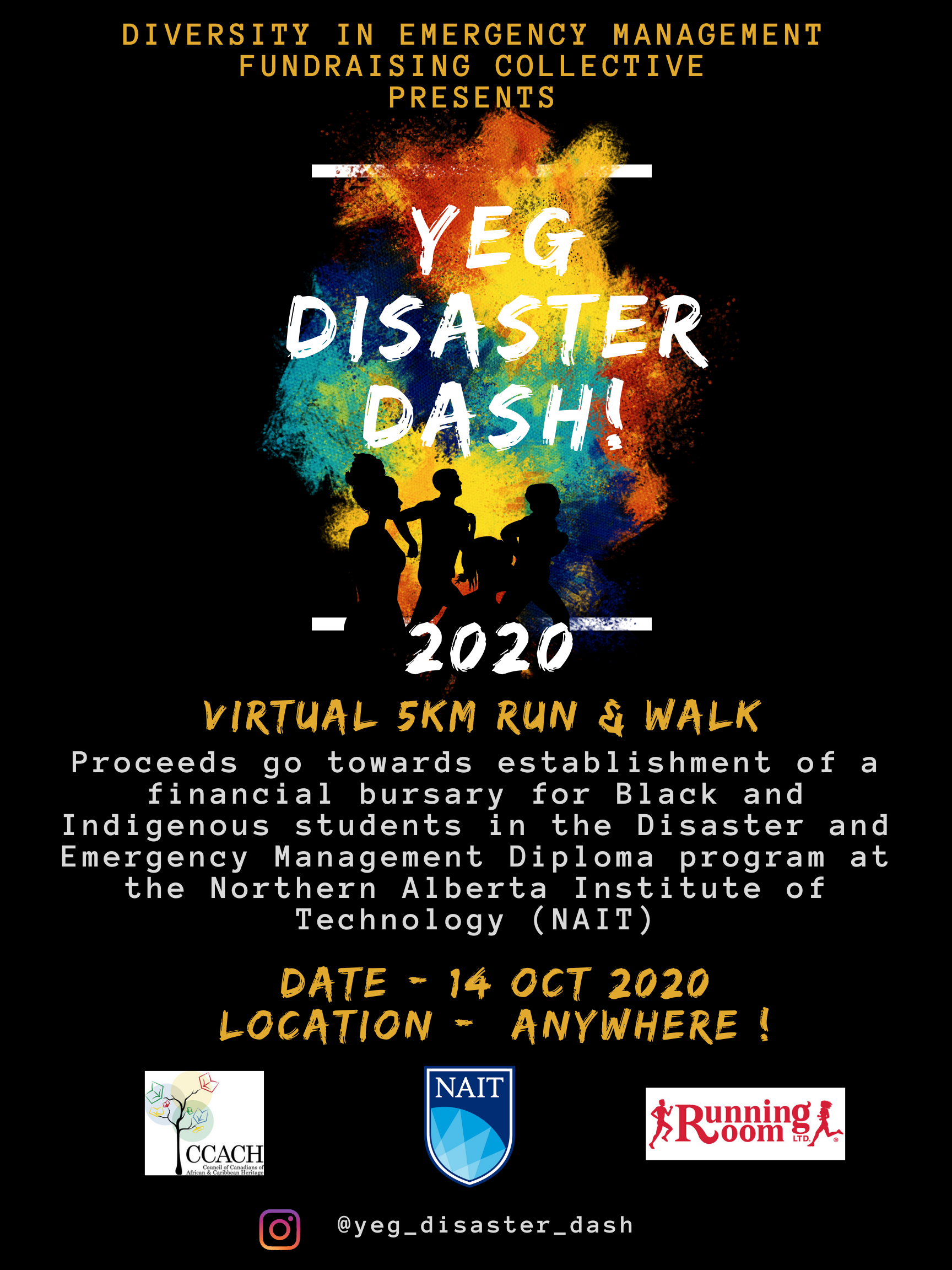 YEG Disasterdash poster