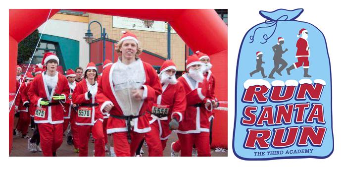 Run Santa Run banner