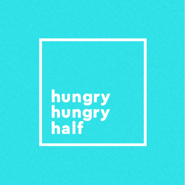 The Hungry Hungry Half Marathon - 2021 Logo