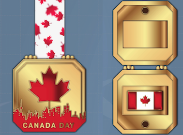 Finishermedal Canada Day
