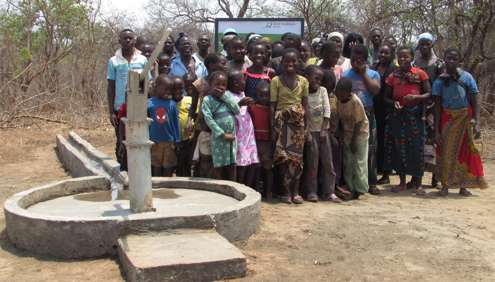 Zambia Kids Well