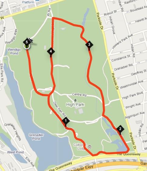 Running Room Bloor West High Park