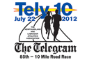 The 85th Tely 10 Mile Road Race Logo